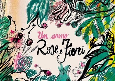 Calendario rose e fiori
